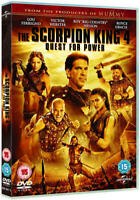 The Scorpion King 4 Quest pour Power Lou Ferrigno Victor Webster DVD Neuf