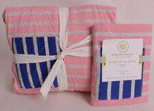 Pottery Barn Kids Margherita Missoni Striped Jersey pocket twin duvet & sham