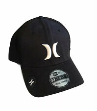 New Era Hurley 39Thirty Black Baseball Cap - Size L / XL Hat- Magnetic Logo