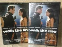 WALK THE LINE DVD * NEW  👀  L@@K❗️Joaquin Phoenix Reese Witherspoon Johnny Cash