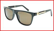ZILLI Sunglasses Titanium Acetate Leather Polarized France Handmade ZI 65010 C01