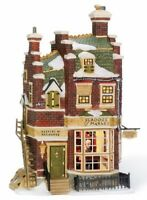 Department 56 Dickens A Christmas Carol Scrooge and Marley's Building 58483