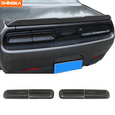 4pcs Taillight Lamp Shell Cover Trim Accessories For Dodge Challenger 2015-2020