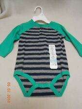 New cute Jumping Beans baby Boy size 6 months one piece outfit bodysuit stripes