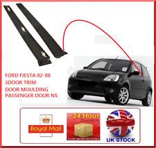 Fits FORD Fiesta MK6 01-08 Outer Front Door Moulding Trim Left Hand (3 DOOR)