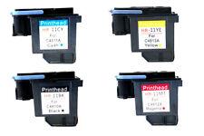 Refurbished combo 4 HP 11 C4810A C4811A C4812A C4813A Printhead Print head