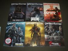 GAME INFORMER VIDEO GAME MAGAZINE LOT OF 10 -CALL OF DUTY- ISSUES 250-259 - R 1X