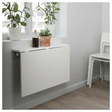 IKEA NORBERG Wall-Mounted Folding Drop-Leaf Table, White, 30180504 - BRAND NEW