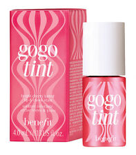 Benefit GOGO TINT Bright Cherry Red Tinted Lip & Cheek Stain 4ml TRAVEL SIZE