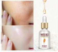 Arroz blanco blanqueamiento suero Cara crema hidratante acné tratamiento 15ml