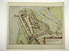 GEERTRUIDENBERG BRABANT NIEDERLANDE KOL KUPFERSTICH GUICCIARDINI 1609 AD #D884S