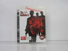 THE GODFATHER 2 PS3 Brand New And Sealed ,100% Pal Game( AUS )