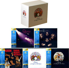 QUEEN A Night at the Opera Japan 5 x JEWEL CASE SHM 2 CD BOX 40th Anniversary