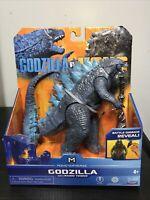 """Playmates Monsterverse Godzilla vs Kong 6"""" Godzilla With Radio Tower 6"""" Figure"""