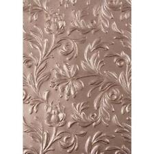 Sizzix 3D Texture Fades Embossing Folder By Tim Holtz - Botanical 662716