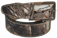 REALTREE AP HD Camouflage Camo Canvas Belt - Size 32 - 46 - NEW