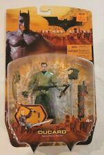 Mattel 2005 Batman Begins Movie Ducard Figure Moc Misp Dark Knight