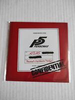 Persona 5 Confidential Footage Bonus CD Sealed