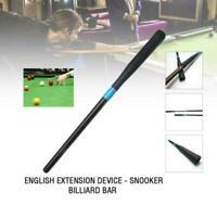 Aluminum Telescopic Cue Push on for Snooker Billiard Extension Sleeve Device rod