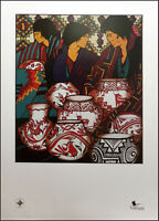 Amado Pena Southwest Art Expo offset lithograph HAND SIGNED Make an offer!