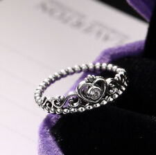 K02 Ring Crown With Heart Out Sterling Silver 925