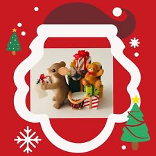 """Charming Tails """"Something Just For You"""" 887/161 Fitz and Floyd Holiday Love Gift"""