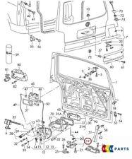 NEW GENUINE VW TRANSPORTER T5 10-17 REAR TRUNK BOOT LOCK MECHANISM 7H0827505K9B9