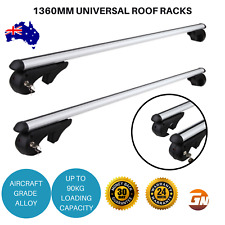Roof Rack 1360mm Lockable Ford Escape Kuga Jeep Cherokee Cross Bar Low Noise