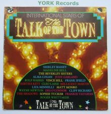 INTERNATIONAL STARS OF THE TALK OF THE TOWN - Various - Ex Con LP Record EMI