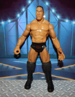 The Rock Dwyane Johnson WWF Titan Tron Live WWE Jakks Pacific WRESTLING FIGURE