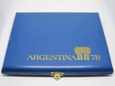 MONETE MONDIALI ARGENTINA 1978 - SERIE COMMEMORATIVA - ARGENTO 900 - COFANETTO