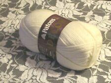 New listing New Patons Decor Aran Cream White Yarn 100 g Acrylic Wool Made in Canada 1602