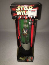 *Mib* Star Wars Ep 1 - C-3Po Collectors Watch - Qui-Gon Jinn Lightsaber Case