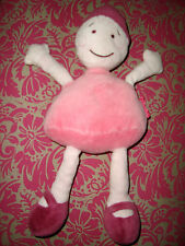 """H # DOUDOU POUPEE  MARQUISE rose """" MARESE """"DOLL PLUSH, BE !!"""
