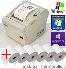 Bonprinter kassendrucker Epson tm-t88 rs-232+ USB Win XP 7 8 10 6 xbonrollen 88-4