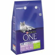 More details for purina one dry cat food sensitive turkey 800g or 3kg