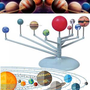 Planetarium Solar System 9 planets Model Kit Astronomy Science Project Kids DIY