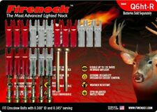 FIRENOCK Hunting & Target crossbow lighted nock Q6ht-R for Scorpyd (Pro package)