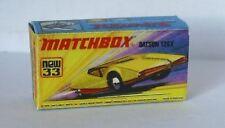 Repro Box Matchbox Superfast Nr.33 Datsun 126 X