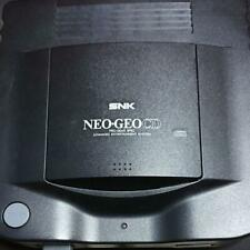 SNK NEO GEO NGCD console 4software 2controllers cable black video game used