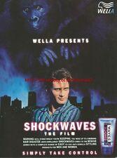 "Wella Shockwaves ""The Film"" 1996 Magazine Advert #3581"