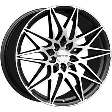 4 Sothis Sc109 20x85 5x45 35mm Blackmachined Wheels Rims 20 Inch Fits Camry