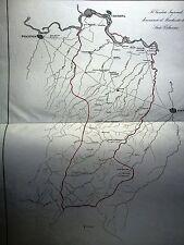 CREMONA, PARMA e PIACENZA mappa ,LITTA POMPEO.Stato Pallavicino 1841.LOMBARDIA