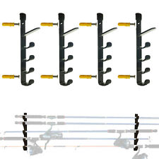 Fishing Rod Holder / Rack - Wall mounted 10 Rods Pole Stand Shelf Tackle Holder