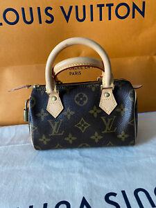 LOUIS VUITTON Monogram Mini Sac HL Speedy Bag