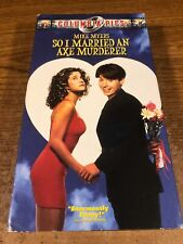 So I Married An Axe Murderer  VHS Used VCR Video Tape Movie  Mike Myers