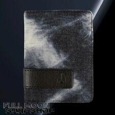 New Nixon Showup Card Black Denim Bifold Mens Wallet