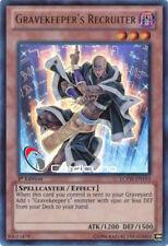 Gravekeeper's Recruiter, EN 1. Auflage, Ultra Rare, Yugioh!