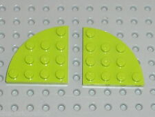 LEGO Star Wars Lime plate corner round 30565 /set 10215 8961 7691 7692 7646 7644