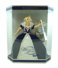 Barbie Millenium Princess Blonde Barbie Doll NIB Blue Dress